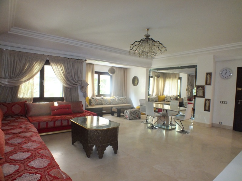 Location <strong>Appartement</strong> Marrakech Guéliz <strong>108 m2</strong>